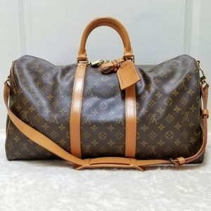 😍Louis Vuitton Keepall Bandouliere 50 Monogram